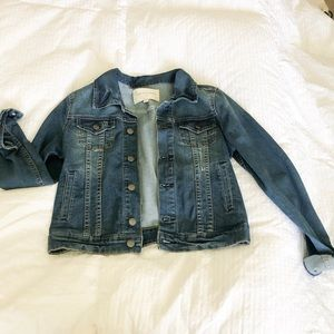 Boutique jean jacket size small